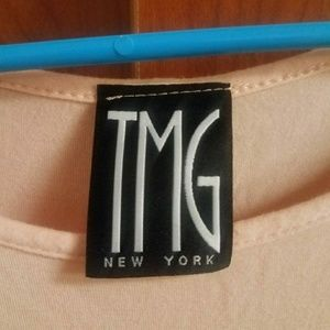 TMG New York Dresses - Light pink T-shirt Mini Dress